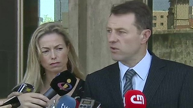 Kate and Gerry McCann Lisbon court July 2014