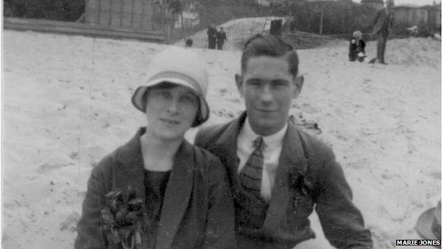 Rex Gentle with his fiancee May