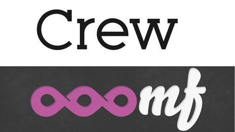The Crew logo and its previous name - Ooomf