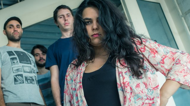 Ava Rocha and her band