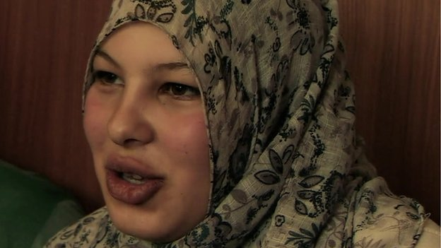 Alaa, a 14-year-old resident of the Zaatari camp, married her cousin and is now pregnant