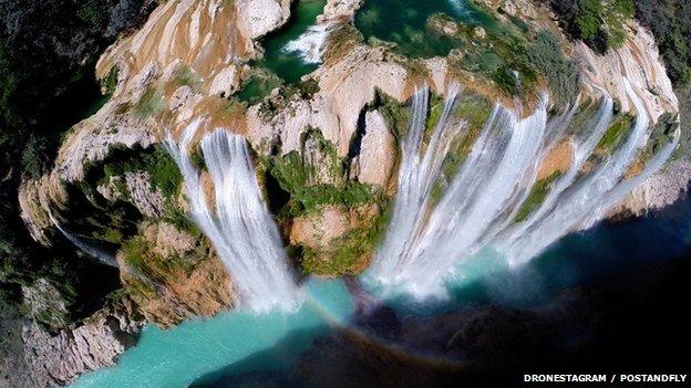 Tamul waterfall, Mexico