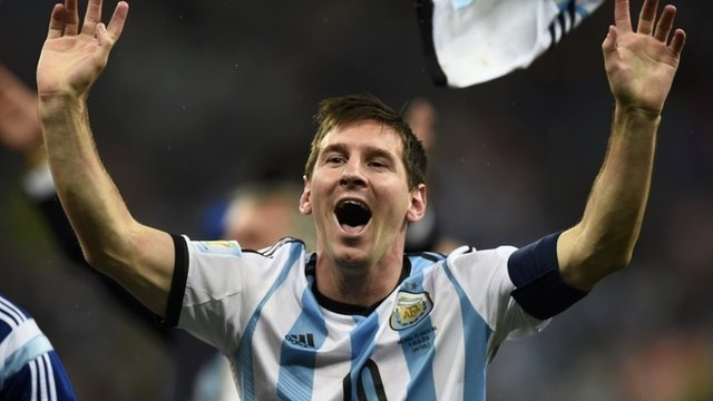 Lionel Messi scored in the semi-final penalty shoot-out but was generally quiet against the Netherlands