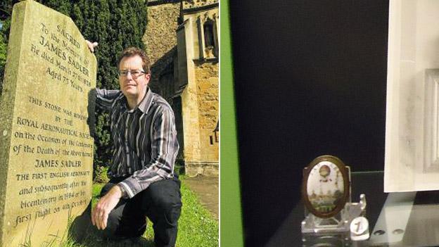 Richard O Smith and a Sadler door knob with a balloon print