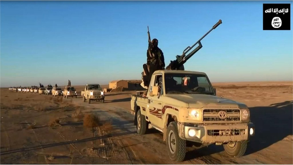 Isis propaganda video image