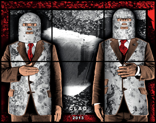 Clad by Gilbert & George