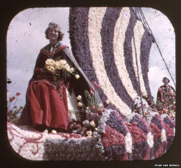 Slide photo of Tulip Time