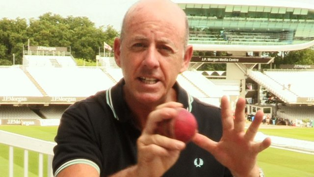 Cricket analyst Simon Hughes