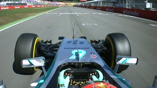 Rosberg's fastest free practice lap