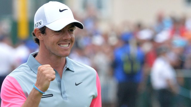 Rory McIlroy wins The Open championship