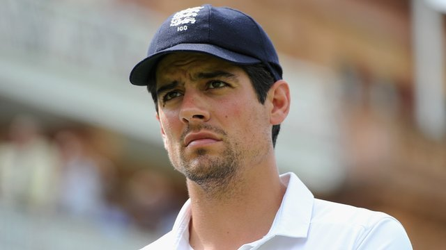 """Alastair Cook says he is desperate to continue as England captain, and will do so """"until my position becomes untenable"""""""