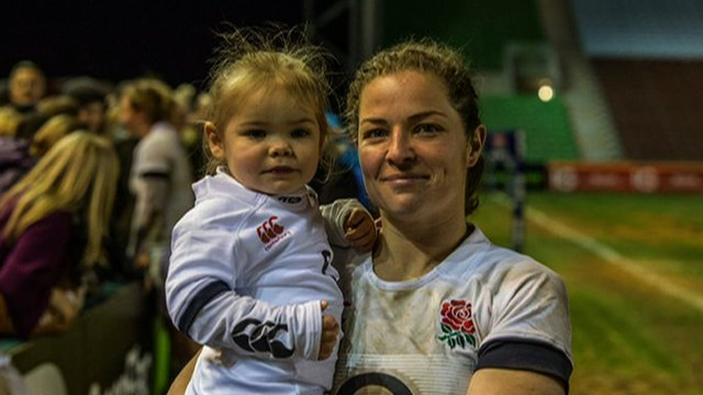 England mum Emma Croker says her daughter Lucy will be there to support her at every game as she aims for World Cup glory in France this summer