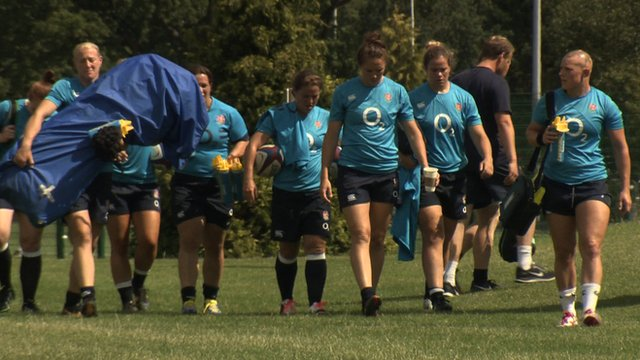 BBC Sport finds out who is the loudest, the funniest and the worst at speaking French in England's women's rugby team