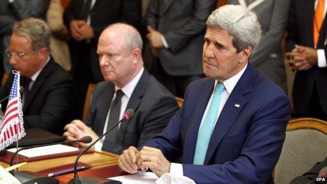 John Kerry in Egypt