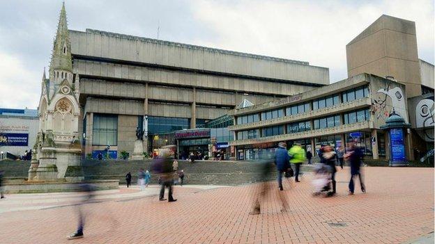 Birmingham's old library