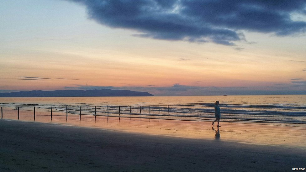 Sunset in Portstewart