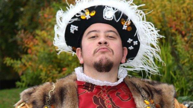 Richard Stevenson as Henry VIII