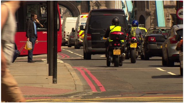 Drivers in London could be charged up to £10 on top of the congestion charge.