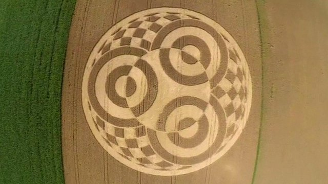 Crop circle in Germany