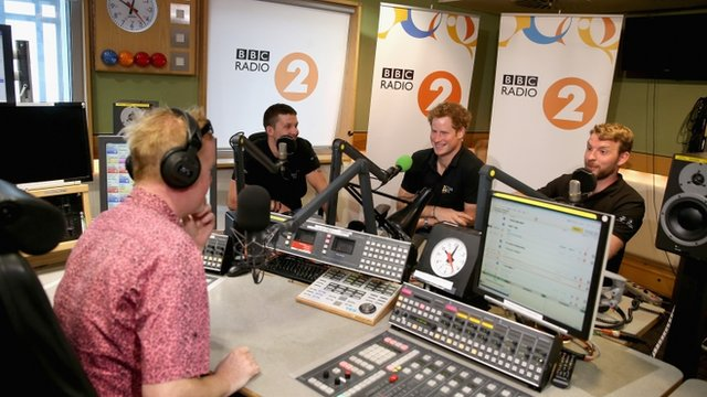 Prince Harry speaks to the BBC's Chris Evans about the Invictus Games