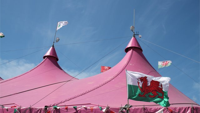 The pink pavilion