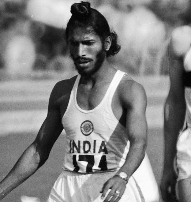 Milkha Singh at the 1960 Rome Olympics