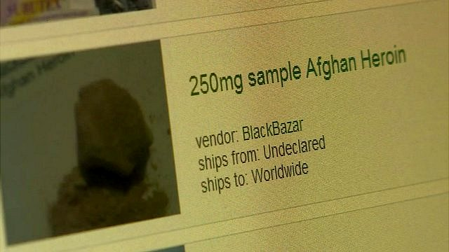 screen shot of drugs on sale online