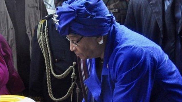 Liberia President Ellen Johnson Sirleaf