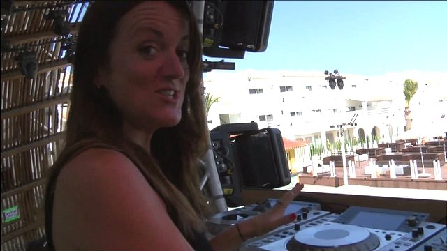 Take a look backstage at one of Ibizia's top clubs