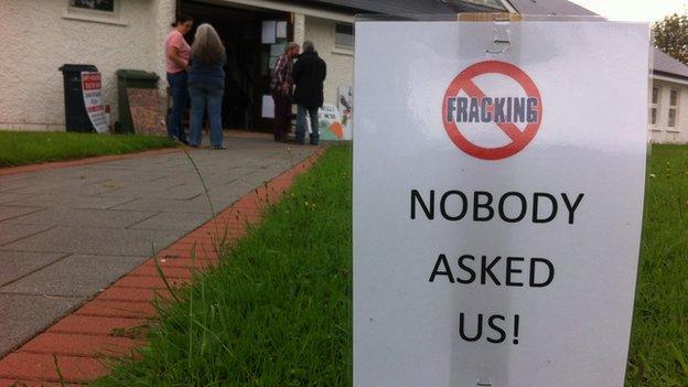 Fracking meeting