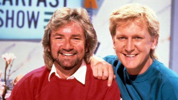 Noel Edmonds and Mike Smith