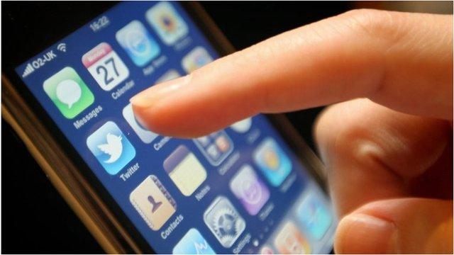 'Apps' ar yr iPhone
