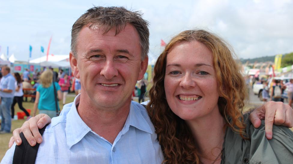Ioan Kidd a Manon Steffan Ross