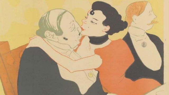Artwork by Henri de Toulouse-Lautrec