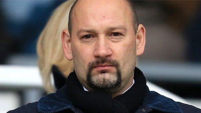 Derby County chief executive Sam Rush