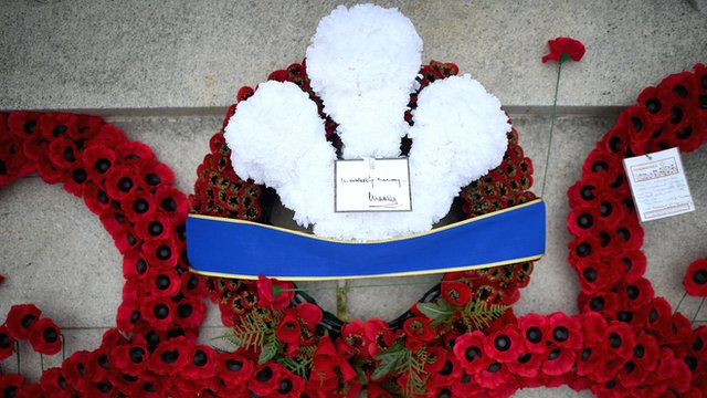 World War One is commemorated in 2014