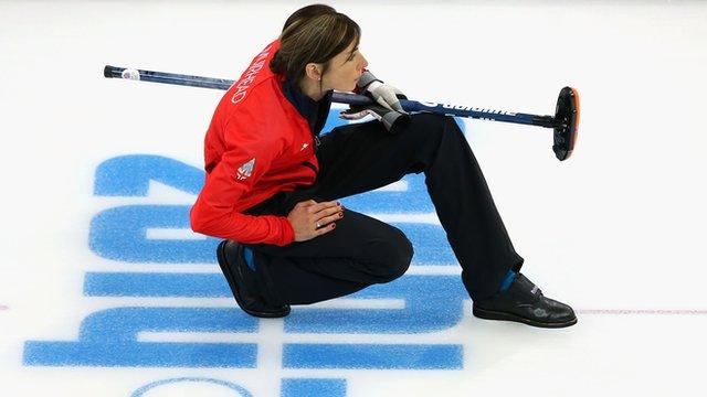 Scotland's Olympic curling skip Eve Muirhead