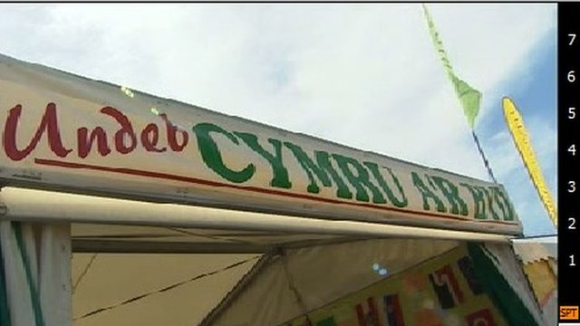Cymru a'r Byd