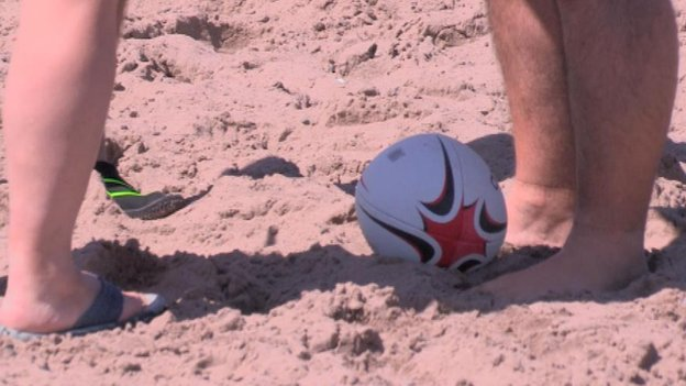 Feature - Beach Rugby