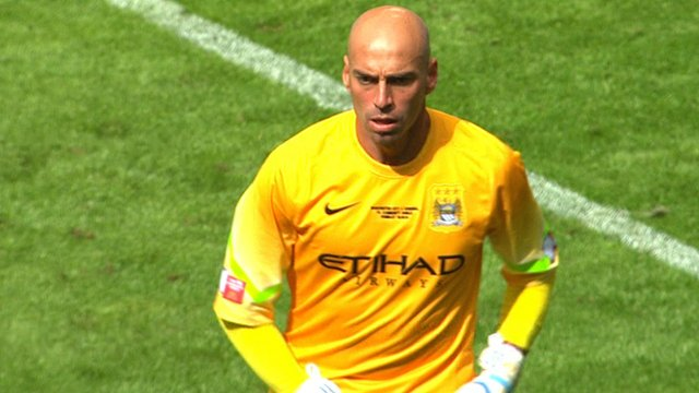 Manchester City's Will Caballero