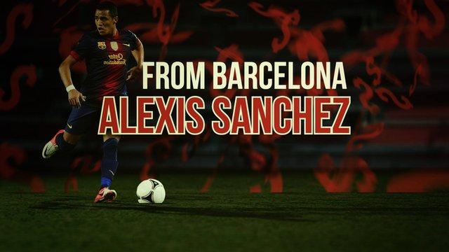 Arsenal signing Alexis Sanchez