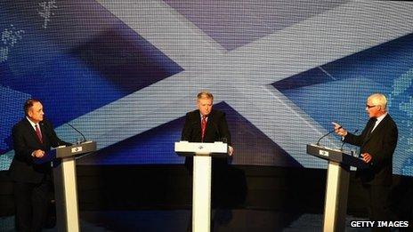 Ailig Salmond, Bernard Ponsonby agus Alistair Darling