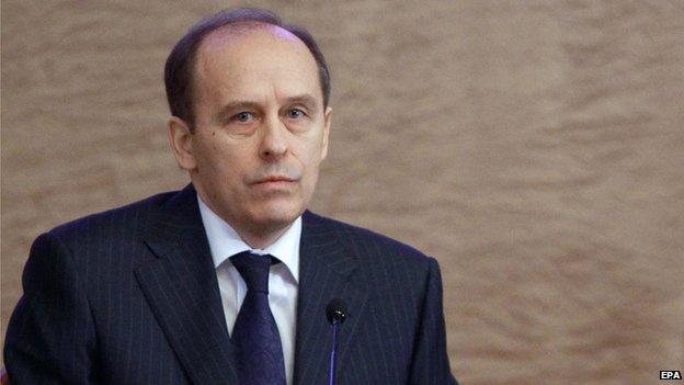 Alexander Bortnikov, file pic