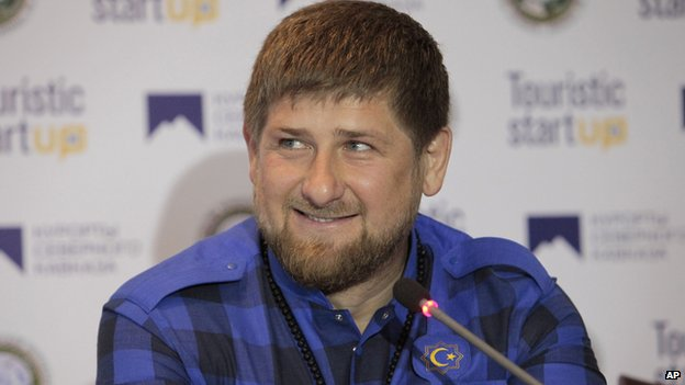 Ramzan Kadyrov, file pic