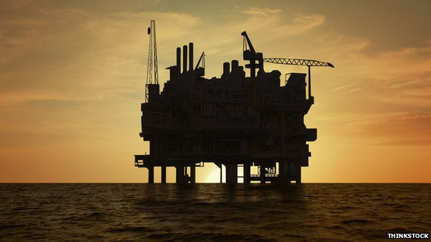 Generic picture of oil platform
