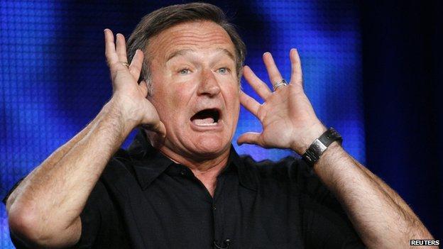 Robin Williams in 2009