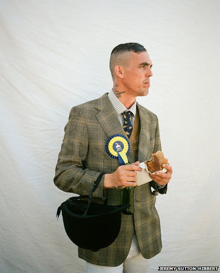 Kevin 'Lucky' Telford, Hawick Common Riding, from the series Unsullied and Untarnished