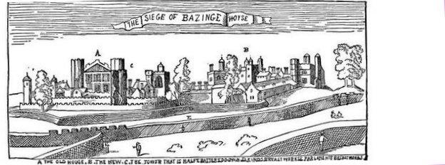 Basing House  Civil War  U0026 39 Siege Trenches U0026 39  Found By Survey