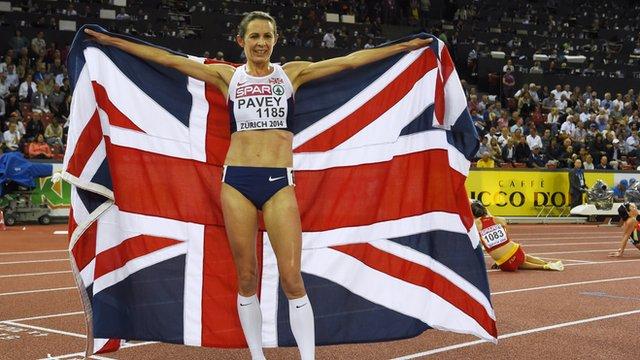 Pavey wins 10,000m European title at 40