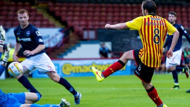 Highlights - Partick Thistle 4-0 Ross County
